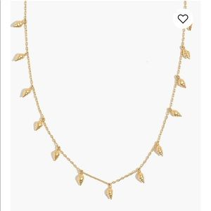 Madewell deensy shell necklace